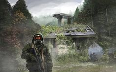 Mist Stalker Overgrown Forest Scene by xvortexbladex on DeviantArt
