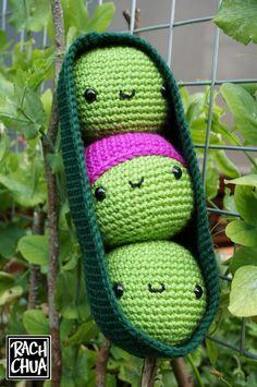 Free Pattern Amigurumi Peas in a Pod