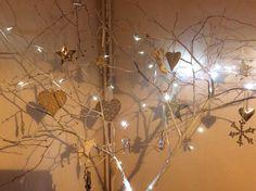 DIY Christmas twigs