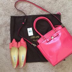 1 day saleNWT Kate Spade Garland Bag New with tag beautiful garland bag. Removable shoulder straps can be worn as cross body or shoulder. No trades kate spade Bags Shoulder Bags
