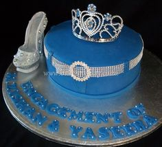 Denim and Diamonds Birthday Cake
