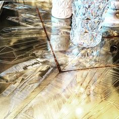 Baccarat Hotel, New York - Lounge Area. Gilles & Boissier #crystal #resin #detail #interiors