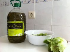 #Temporada de #verde!! #Lechuga y aceitolivex, una #buena #combinación !! #Extremadura #salud #gastronomia #tajointernacional