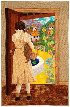 American Quilter's Society. Dorothy in Oz Quilt. This is amazing!