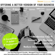 Innovate Your Business, Modernize Your IT, Secure Your Data, Cut Unnecessary Costs Managed It Services, It Service Provider, San Diego, Innovation, How To Become, Engineering, Technology, Business, Tech