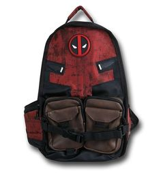 Save $5 on any order over $25 order when you share our page to your favorite social media network.  Discount does not apply to HeroBox Deadpool Symbol Laptop Backpack