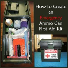 Have you ever found yourself rummaging around for first aid items? If so, take a look at this portable ammo can first aid kit and create one of your own.