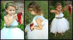 Greek Flower Girl <3