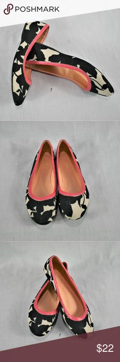 8ff6f2b5dad0 LILLYBEE Printed Black   White Flats shoe