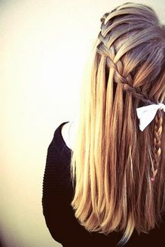 Waterfall Braid with photo and great instructions - Tenacity Solution