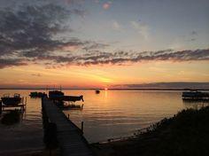 Sunset on Houghton Lake, MI Photo by Kristin K. -- National Geographic Your Shot