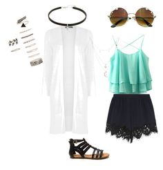 spring by borth1227 on Polyvore featuring polyvore fashion style Oasis Chloé Forever 21 Charlotte Russe clothing