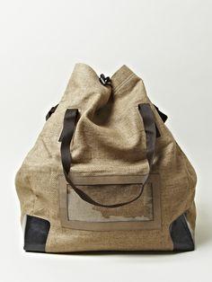 4a087b7d534 Dries Van Noten Mens Tote Linen Bag Fashion Handbags
