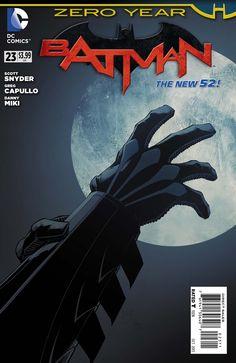 The cover to Batman #23 (2013), art by Greg Capullo, Danny Miki, & FCO Plascencia