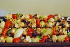 Aunt Bee's Recipes: Island Marinated Chicken and Pineapple Kabobs