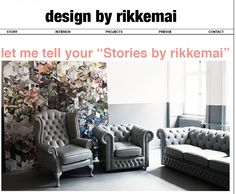interior decoration by Stories by Rikkemai.  My own collage