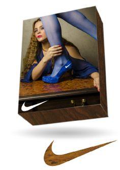 Publicidad de la marca nike  Manejo de las herramientas photoshop and ilustrator
