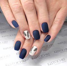 Elegant Nail Designs, Colorful Nail Designs, Hot Nails, Hair And Nails, Gellish Nails, Romantic Nails, Cute Acrylic Nails, Accent Nails, Blue Nails