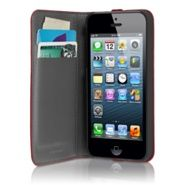 HEX Axis Wallet Case for iPhone 5 - Apple Store (U.S.)  Great for on the go.