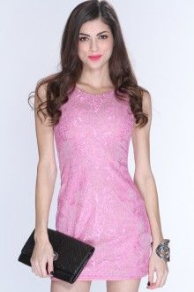 AMIClubwear pink party dress