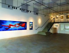 Gallery One's Space Provides the Perfect Frame for a Memorable Occasion Visual Arts Center, Community Art, Second Floor, How To Memorize Things, Art Gallery, Events, Space, Building, Winter