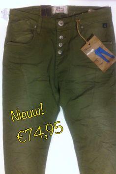 Nieuwste collectie van LTB. Mooi broekje in Armygroen voor €74,95