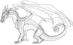 Queen Scarlet Wings of Fire | Starwind Sketch by JereduLevenin