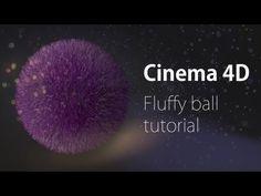(1) Cinema 4D: Fluffy ball tutorial - YouTube