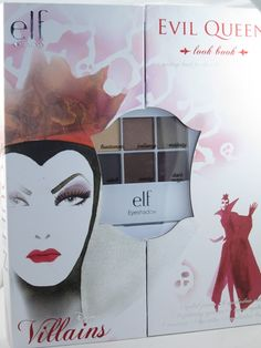 The Evil Queen E.L.F. Cosmetics Disney Villains Collection for Fall 2013