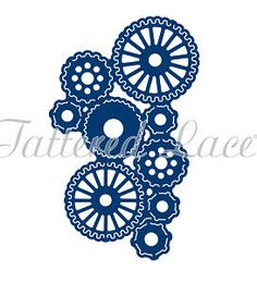 Tattered Lace Die - STeampunk Tuck In Gears by PNWCrafts on Etsy
