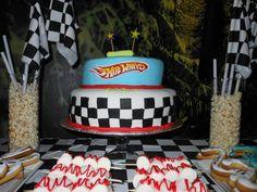 Hot Wheels Birthday, Hot Wheels Party, 2nd Birthday Parties, Birthday Cake, Buckets, Candy, Dreams, Facebook, Big