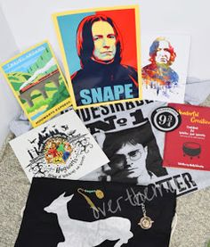 Over The Moony: Geek Gear Harry Potter Unboxing - July 2016