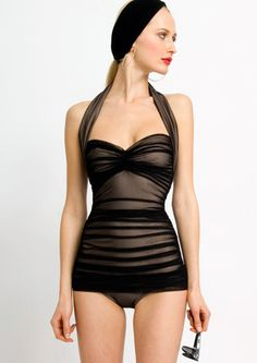 Probably a bit pricey for most of us ($350.00 dollars pricey), but definitely on my wish list.  It looks very old Hollywood, and like it would flatter anyone<3
