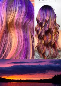 Sunset Hair - Hair by Megan with Joico Intensity colours /