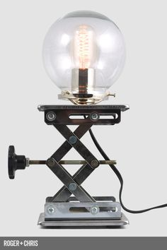 Cranky Industrial Table Lamp