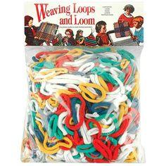 Wool Novelty Weaving Loops and Loom - 1 ea.
