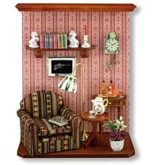 Reading Room Wall Display