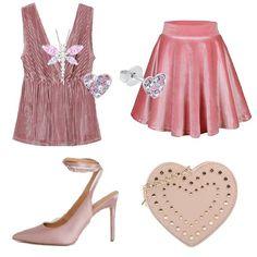 Chic in rosa  outfit donna Chic per serata fuori  205b0b190e4
