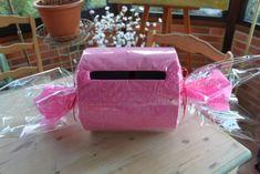 Cardbox (with candies as reception theme) :  wedding pink Cardbox
