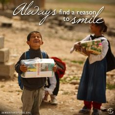Always find a reason to smile!