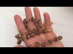 Jewelry ❤ DIY: beaded wedding vintage necklace with pearls Diy Bracelets Easy, Beaded Bracelets Tutorial, Zipper Bracelet, Bijoux Design, Schmuck Design, Beaded Jewelry Patterns, Bracelet Patterns, How To Make Rings, Diy Jewelry Tutorials
