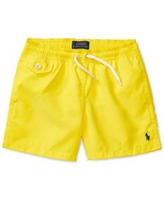 Ralph Lauren Lined Swim Trunks, Toddler Boys & Little Boys – Kids Fashion Boys Summer Outfits, Summer Boy, Baby Boy Outfits, Toddler Swimsuits, Men's Swimsuits, Swimwear, Toddler Swag, Toddler Boys, Luxury Baby Clothes