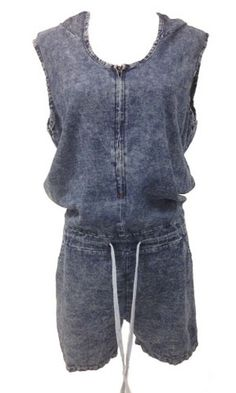 Classic Denim Girl Jumpsuit  -The Denim Overall Classic  -Jumpsuit style  -Denim Tie Dye Look  -Draw string waist band with elastic through the back  -Hood  -Loose Fit top half  This Classic Denim Jumpsuit or overall is a must have for all wardrobes, it consistently comes back into fashion year in and year our to grace us with its' elcletic and unique style.   $49.00  http://stylebox8.com/collections/new-in-1/products/classic-denim-girl-jumpsuit