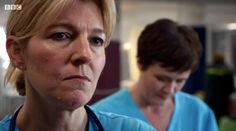 Holby City (18/36) Bernie and Serena (Jemma Redgrave and Catherine Russell)
