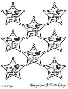 5-Point Sheriff/'s Deputy Badge Door Hanger; Custom Police Monogram; Police Themed Gift; Police Wall Hanger; Police Gift; Law Enforcment Gift