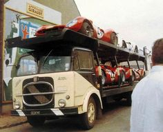 Magic Carpet Auto Transport Here is how we Became the best. #LGMSports relocate it with http://LGMSports.com 1967 24 FERRARI 412 TRANSPORT FIAT