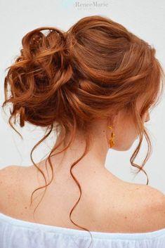 Trendy Updo Hairstyles for Medium Length Hair ★ See more: http://lovehairstyles.com/updo-hairstyles-for-medium-length-hair/