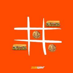 Subway Qatar-April 2019 on Behance Food Graphic Design, Food Poster Design, Ad Design, Graphic Design Inspiration, Logo Design, Ads Creative, Creative Advertising, Streetfood Festival, Instagram Design