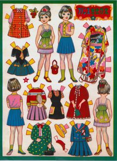 That's All You Do...paper doll