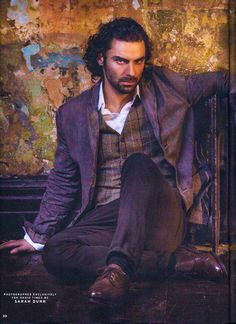 """Aidan Turner for """"Radio Times"""" - (photo by Sarah Dunn). It's just not fair that he's so handsome, his brooding gaze makes me weak at the knees and this is just a photo. Guys this hot should be sent to me, so I can Deal with them! Aidan Turner Poldark, Ross Poldark, Poldark 2015, Poldark Cast, Demelza Poldark, Aiden Turner, Will Turner, Aidan Turner Girlfriend, Moda Masculina"""